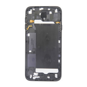 For Samsung J7 2017 back cover black with emie