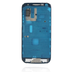 For Samsung i9195 S4 mini front frame w.adhesive white