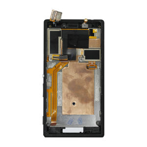 For Sony M2 LCD with Frame Original Black