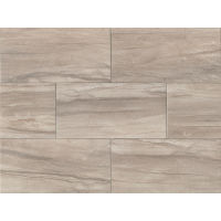 "Athena 20"" x 40"" x 7/16"" Floor and Wall Tile in Ash"