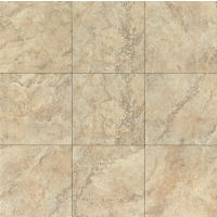 "Forge 20"" x 20"" x 3/8"" Floor and Wall Tile in Beige"