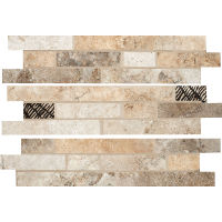 "Forge 3"" x 13"" x 3/8"" Floor and Wall Listello in Mix Colors"
