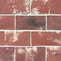 "Avondale 4"" x 8"" Floor and Wall Tile in Used Red"