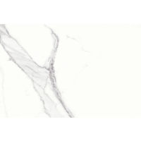 "Magnifica 15"" x 30"" x 1/4"" Floor and Wall Tile in Statuario Super White"
