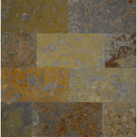 "Brazilian Multicolor 8"" x 16"" x 3/8"" Floor and Wall Tile"