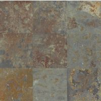 "Brazilian Multicolor 16"" x 16"" x 3/8"" Floor and Wall Tile"
