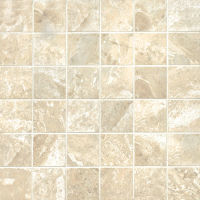 "Classic 2"" x 2"" Floor and Wall Mosaic in Cremino"