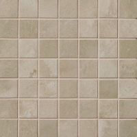"Cemento 1-1/2"" x 1-1/2"" Floor and Wall Mosaic in Baler"