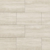 "Islands 12"" x 24"" x 7/16"" Floor and Wall Tile in Beige"
