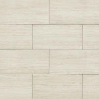 "Islands 12"" x 24"" x 7/16"" Floor and Wall Tile in White"