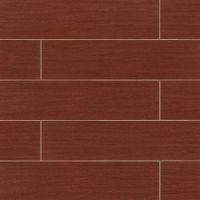 "Heathland Collection 6"" x 24"" x 3/8"" Floor and Wall Tile in Banyan"