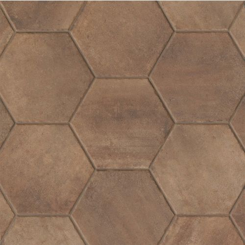"Native 13.5"" x 13.5"" Floor & Wall Tile in Fire"