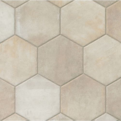 "Native 13.5"" x 13.5"" Floor & Wall Tile in Ivory"