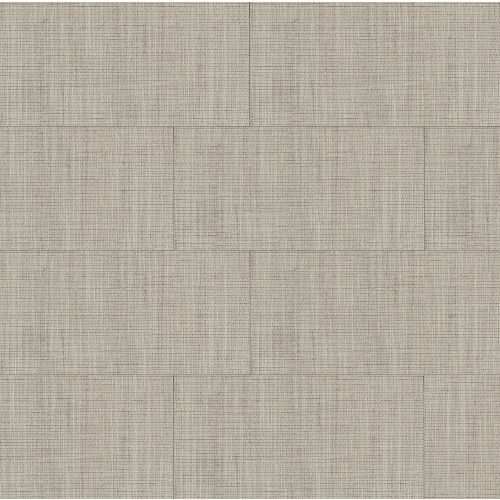 "Tailor Art 12"" x 24"" Floor & Wall Tile in Taupe"