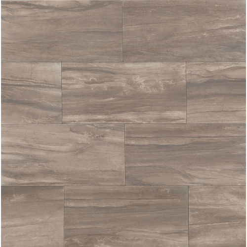 "Athena 12"" x 24"" Floor & Wall Tile in Cliff"