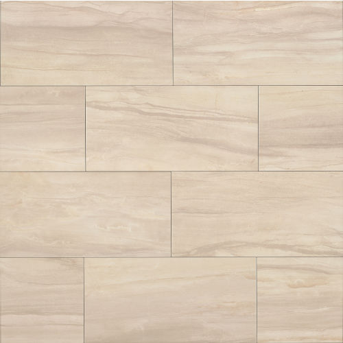 "Athena 12"" x 24"" x 3/8"" Floor and Wall Tile in Sand"