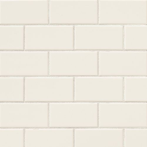 "Traditions 3"" x 6"" Wall Tile in Biscuit"