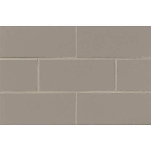 "Traditions 4"" x 10"" x 1/4"" Wall Tile in Taupe"