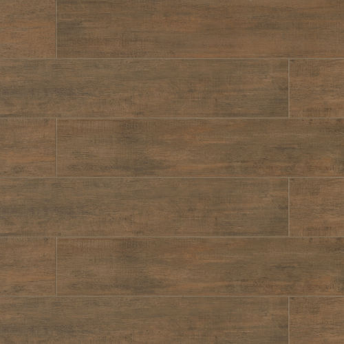 "Barrique 8"" x 40"" Floor & Wall Tile in Brun"