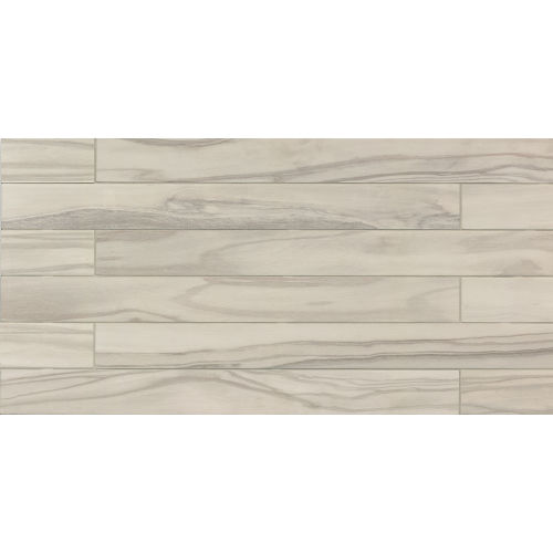 "Epic 4"" x 40"" x 3/8"" Floor and Wall Tile in Pearl"