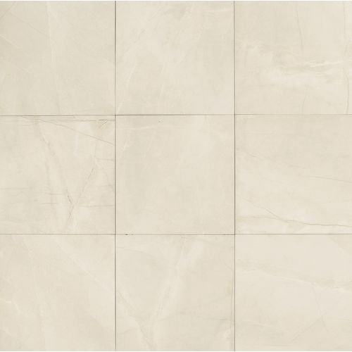 "Pulpis 24"" x 24"" Floor & Wall Tile in Bianco"