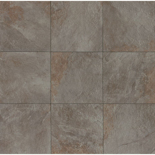 "Rok 20"" x 20"" Floor & Wall Tile in Nero"