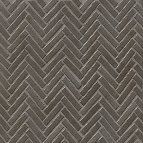 "90 1/2"" x 2"" Floor & Wall Mosaic in Metallic"