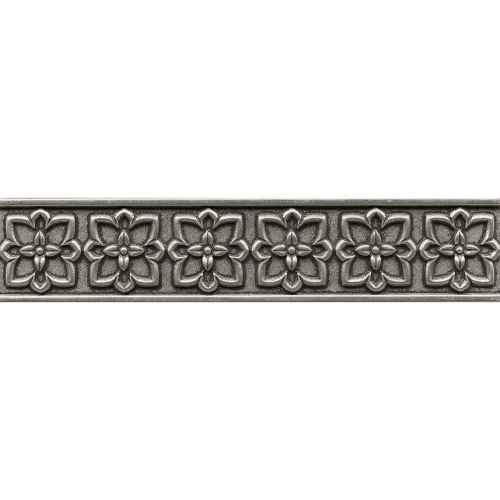 "Ambiance 2.5"" x 12"" x 1/2"" Trim in Pewter"
