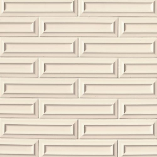 "Costa Allegra 3"" x 12"" Decorative Tile in Alabaster"