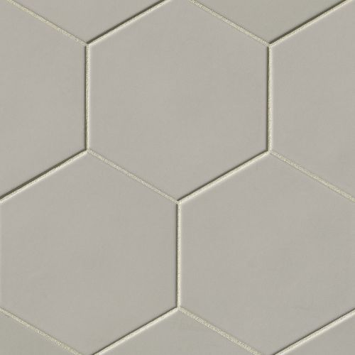 "Costa Allegra 8"" x 8"" Floor & Wall Tile in Cinder"