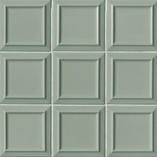 "Costa Allegra 6"" x 6"" x 5/16"" Decorative Tile in Gulf"