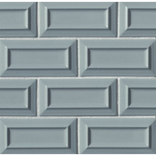 "Costa Allegra 3"" x 6"" Decorative Tile in Tide"