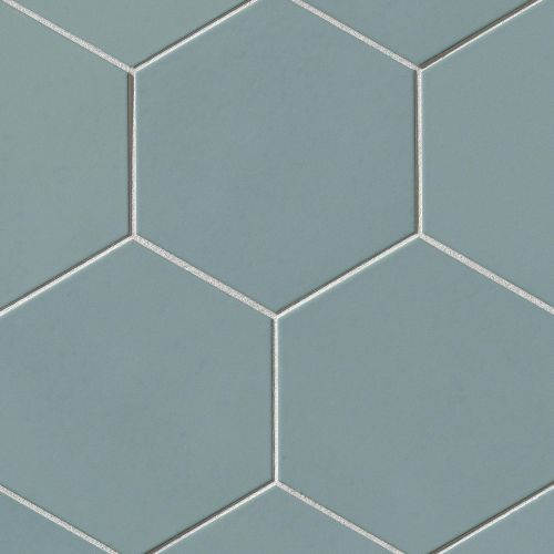 "Costa Allegra 8"" x 8"" Floor & Wall Tile in Tide"