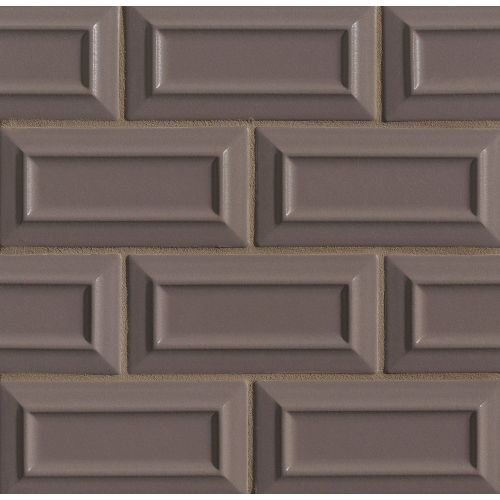 "Costa Allegra 3"" x 6"" Decorative Tile in Timber"