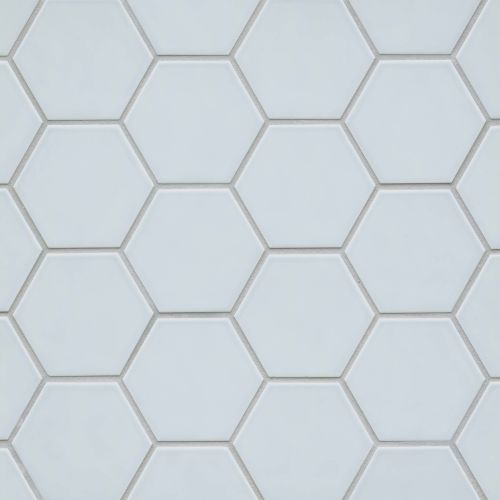 "Hedron 4"" x 5"" Wall Tile in Sky Blue"