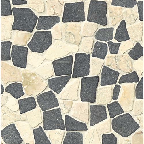 Hemisphere Floor & Wall Mosaic in Island Blend