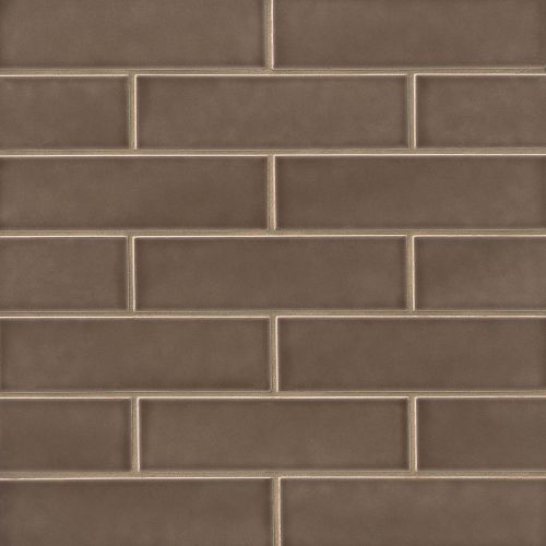 "Provincetown 2.5"" x 9"" Floor & Wall Tile in Brewster Brown"