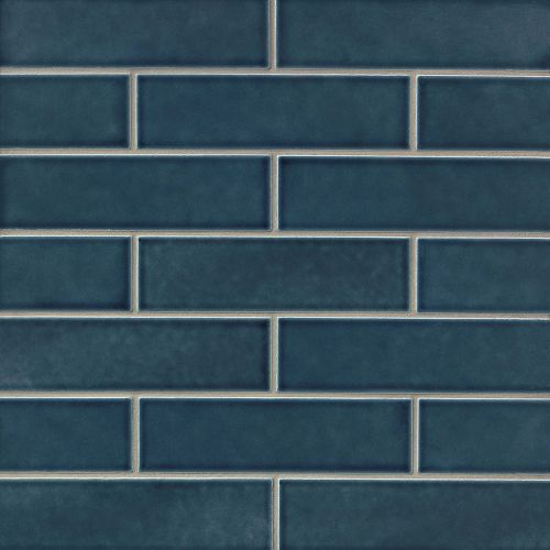 "Provincetown 2.5"" x 9"" Floor & Wall Tile in Cape Cod Blue"