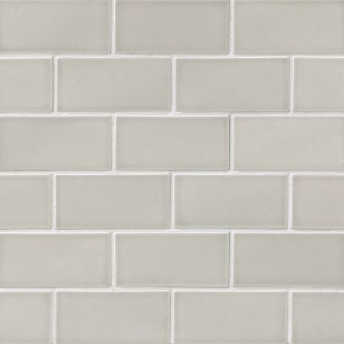 "Provincetown 3"" x 6"" Floor & Wall Tile in Dolphin Grey"