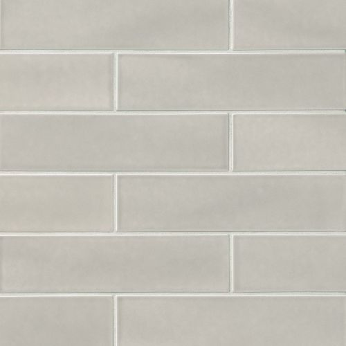 "Provincetown 4"" x 16"" Floor & Wall Tile in Dolphin Grey"