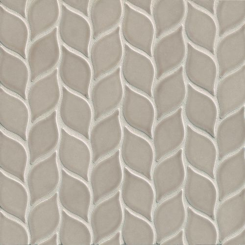 "Provincetown 2-13/16"" x 1-7/16"" Floor and Wall Mosaic in Dune Beige"