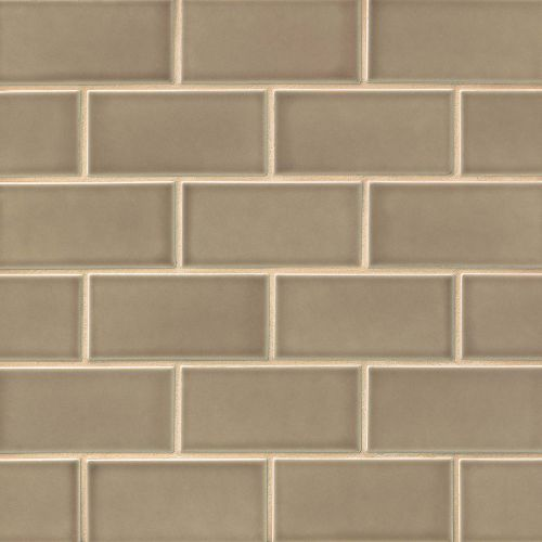 "Provincetown 3"" x 6"" Floor & Wall Tile in Highland Brown"