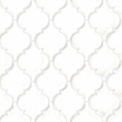 "Provincetown 5-1/8"" x 4-1/16"" Wall Mosaic in Porch White"