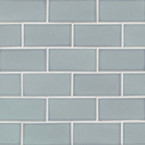 "Provincetown 3"" x 6"" Floor & Wall Tile in Surfside Blue"