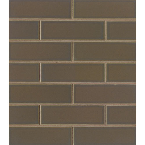 "Zenith 2"" x 6"" Floor & Wall Mosaic in Umbra"