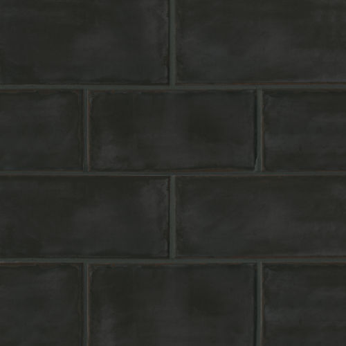 "Chateau 4"" x 8"" Wall Tile in Midnight"