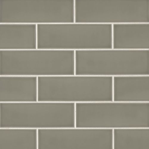 "Grace 4"" x 12"" x 1/4"" Wall Tile in Ecru"