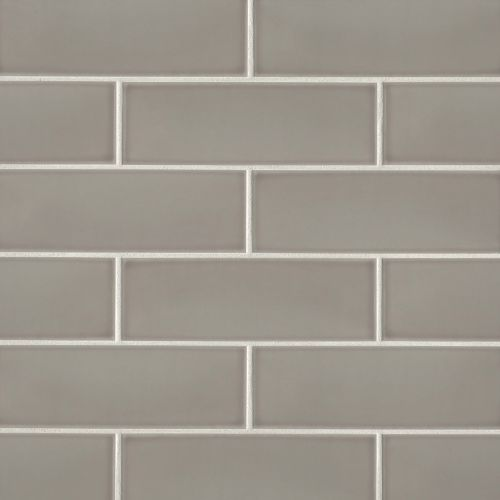 "Grace 4"" x 12"" Wall Tile in Grigio"