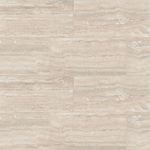 "Toscano 12"" x 24"" Floor & Wall Tile in Silver"