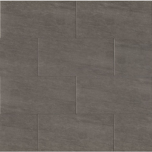 "Moonstone 12"" x 24"" Floor & Wall Tile in Graphite"